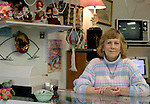 WATERBURY, CT-- 5 January 2005   010505DA01.JPG --Mare's Re-Runs . (owner) MaryAnn Cooney. For Marketplace.Staff photo. Darlene Douty.