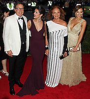 "NEW YORK CITY, NY, USA - MAY 05: David O. Russell, Selena Gomez, Diane Von Furstenberg, Jessica Alba at the ""Charles James: Beyond Fashion"" Costume Institute Gala held at the Metropolitan Museum of Art on May 5, 2014 in New York City, New York, United States. (Photo by Xavier Collin/Celebrity Monitor)"