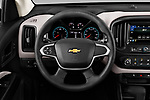 Car pictures of steering wheel view of a 2019 Chevrolet Colorado WT 4 Door Pick-up Steering Wheel