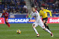 Harrison, NJ - Thursday March 01, 2018: Alex Muyl. The New York Red Bulls defeated C.D. Olimpia 2-0 (3-1 on aggregate) during a 2018 CONCACAF Champions League Round of 16 match at Red Bull Arena.