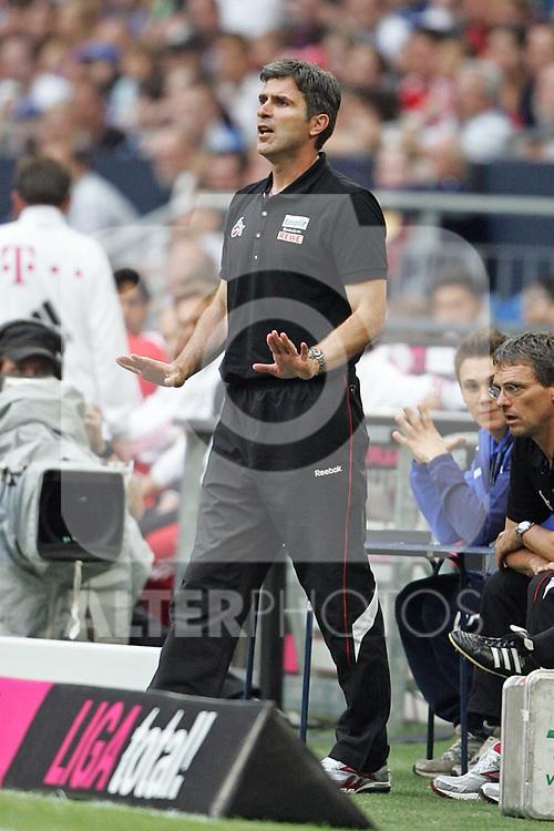 31.07.2010,  Veltnis-Arena, Gelsenkirchen, GER, 1.FBL, FC Bayern Muenchen - 1. FC Koeln, Liga total! Cup 2010, im Bild: Zvonimir Soldo (Trainer Koeln)  Foto © nph / Mueller