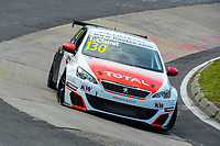 Race of Germany Nürburgring Nordschleife 2016 Free Training 1 ETCC 2016 130 Sebastien Loeb Racing Peugeot 308 Racing Cup Teddy Clairet (FRA). © 2016 Musson/PSP. All Rights Reserved.