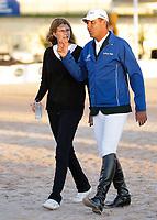 WELLINGTON, FL - MARCH 02: Athina Onassis Roussel_Alvaro de Miranda Neto participates at the Winter Equestrian Festival at the Palm Beach International Equestrian Center on March 2, 2014 in Wellington, Florida<br /> <br /> <br /> People:  Athina Onassis Roussel_Alvaro de Miranda Neto