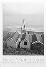 BEACH COTTAGES ON THE CHANNEL<br /> Southwold, England © Brian Vanden Brink, 2002