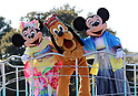 Tokyo Disneyland's annual New Year's Day parade