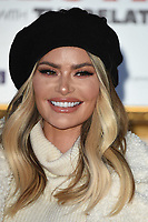 "Chloe Sims<br /> arriving for the ""Surviving Christmas with the Relatives"" premiere at the Vue Leicester Square, London<br /> <br /> ©Ash Knotek  D3461  21/11/2018"