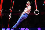 World Championships Gymnastics Mens Team Final 2015 SSE Hydro Arena. GB Team .Nile Wilson.