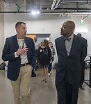 HISD's Bond Oversight Committee toured the newly opened Kinder High School for the Performing and Visual Arts on Tuesday at their quarterly meeting to review progress of the 2012 Bond Program.