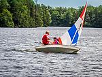 Eagles Mere Lake sunfish regatta. 2018
