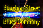 Louisiana, New Orleans, Bourbon Street Neon Sign