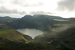 Funda Lake (down) and Rasa lake (up) on the south of Flores.