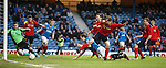 Jon Daly tries to get to the rebound