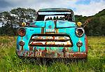 Abandoned Old Dodge pickup, Kodiak Island, Alaska