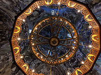 in Sionikirche in Didi Ateni im Tana-Tal, Samzche-Dschawacheti, Georgien, Europa<br /> inside Sioni church in Didi Ateni, Tana Valley, Samzche-Dschawacheti,  Georgia, Europe