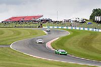 Adam Balon & Sandy Mitchell, Lamborghini Huracan GT3 EVO, Barwell Motorsport from Stewart Proctor & Lewis Proctor, McLaren 720S GT3, Balfe Motorsport  from Hollywood into Craner Curves during the British GT & F3 Championship on 10th July 2021