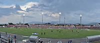 TULUA - COLOMBIA, 01-03-2020: Cortuluá y Leones F.C. en partido por la fecha 5 de la Torneo BetPlay DIMAYOR I 2020 jugado en el estadio Doce de Octubre de la ciudad de Tuluá. / Cortulua and Leones F.C. in match for the for the date 5 as part of BetPlay DIMAYOR Tournament I 2020 played at Doce de Octubre stadium in Tulua city. Photo: VizzorImage / Gabriel Aponte / Staff