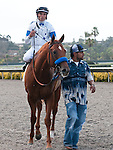 August 20, 2011.Sweet Swap ridden by Joel Rosario wins the 6th at Del Mar Thoroughbred Club, Del Mar, CA