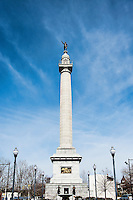 Trenton Battle Monument, American Revolutionary War, Trenton, New Jersey