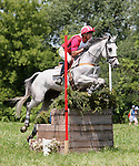 11 July 2009: Bruce Davidson Sr. riding Cruise Lion during the cross country phase of the CIC 3* Maui Jim Horse Trials at Lamplight Equestrian Center in Wayne, Illinois.