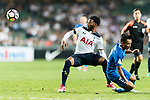 Tottenham Hotspur Midfielder Georges-Kevin Nkoudou (L) in action against SC Kitchee Forward Kwan Yee Lo (R) during the Friendly match between Kitchee SC and Tottenham Hotspur FC at Hong Kong Stadium on May 26, 2017 in So Kon Po, Hong Kong. Photo by Man yuen Li  / Power Sport Images