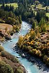 Schweiz, Graubuenden, Unterengadin, der Inn    Switzerland, Graubuenden, Lower Engadin, river Inn