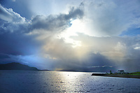 SC - Prov. ARGYLL<br /> A dark weather front moves in over Loch Linnhe from the Isle of Mull  <br /> <br /> Full size: 69,1 MB