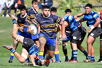 College Rugby – Rongotai College v Nelson College at Rongotai College, Wellington, New Zealand on Wednesday 14 April 2021. <br /> Photo by Masanori Udagawa. <br /> www.photowellington.photoshelter.com