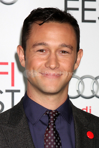 HOLLYWOOD, CA - NOVEMBER 08: Joseph Gordon-Levitt at the 'Lincoln' premiere during the 2012 AFI FEST at Grauman's Chinese Theatre on November 8, 2012 in Hollywood, California. Credit: mpi21/MediaPunch Inc.