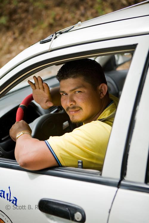 Portrait of a Nicaraguan taxi driver, Granada, Nicaragua