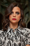 Spanish actress Macarena Gomez pose for photographers during a presentation for a sponsor of the Goya Awards with hairdressers and Makeup artist at Academia de Cinema in Madrid January 14, 2015, Spain. (ALTERPHOTOS / Nacho Lopez)