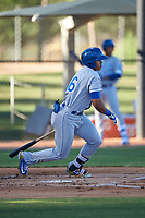 AZL Royals Gary Camarillo (16) at bat during an Arizona League game against the AZL White Sox at Camelback Ranch on June 19, 2019 in Glendale, Arizona. AZL White Sox defeated AZL Royals 4-2. (Zachary Lucy/Four Seam Images)