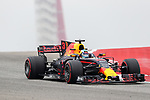 Red Bull Racing driver Daniel Ricciardo (3) of Australia in action before the Formula 1 United States Grand Prix race at the Circuit of the Americas race track in Austin,Texas.