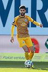 20.02.2021, xtgx, Fussball 3. Liga, FC Hansa Rostock - SV Waldhof Mannheim, v.l. Hamza Saghiri (Mannheim, 35) Freisteller, Einzelbild, Ganzkoerper, single frame <br /> <br /> (DFL/DFB REGULATIONS PROHIBIT ANY USE OF PHOTOGRAPHS as IMAGE SEQUENCES and/or QUASI-VIDEO)<br /> <br /> Foto © PIX-Sportfotos *** Foto ist honorarpflichtig! *** Auf Anfrage in hoeherer Qualitaet/Aufloesung. Belegexemplar erbeten. Veroeffentlichung ausschliesslich fuer journalistisch-publizistische Zwecke. For editorial use only.