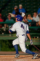 Jake Opitz (4) of the Daytona Cubs during a game vs. the Brevard County Manatees May 25 2010 at Jackie Robinson Ballpark in Daytona Beach, Florida. Daytona won the game against Brevard by the score of 5-3.  Photo By Scott Jontes/Four Seam Images