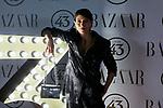 Nerea Barros attends to II Harper's Bazaar Actitud 43 awards at Gunilla Club in Madrid, Spain. October 17, 2018. (ALTERPHOTOS/A. Perez Meca)