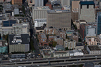 aerial photograph South of Market SOMA San Francisco, California