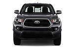 Car photography straight front view of a 2016 Toyota Tacoma SR5 Access Cab 4 Door Pick Up