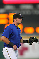 May 14 2009: Matt Sweeney of the Rancho Cucamonga Quakes during game against the High Desert Mavericks at The Epicenter in Rancho Cucamonga,CA.  Photo by Larry Goren/Four Seam Images