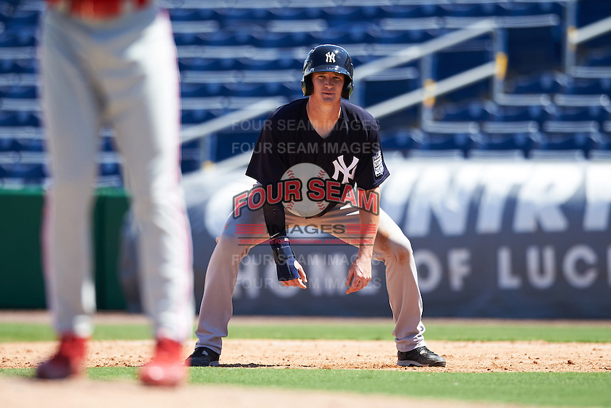 New York Yankees Kyle Holder (23) during an Instructional League game against the Philadelphia Phillies on September 27, 2016 at Bright House Field in Clearwater, Florida.  (Mike Janes/Four Seam Images)