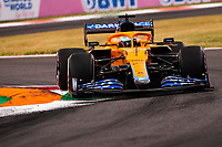 10th September, September 2021; Nationale di Monza, Monza, Italy; FIA Formula 1 Grand Prix of Italy, Free practise and qualifying for sprint race:  3 Daniel Ricciardo AUS, McLaren F1 Team