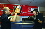 Welsh featherweight boxer Darren Edwards from Port Talbot.<br />