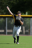 Pittsburgh Pirates outfielder Michael Suchy (55) during an Instructional League game against the Tampa Bay Rays on September 27, 2014 at the Charlotte Sports Park in Port Charlotte, Florida.  (Mike Janes/Four Seam Images)