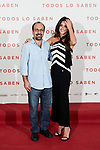 Asghar Farhadi and Penelope Cruz attends to 'Todos lo Saben' film photocall at Urso Hotel in Madrid, Spain. September 12, 2018. (ALTERPHOTOS/A. Perez Meca)