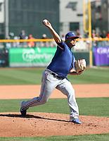 Ariel Jurado - Texas Rangers 2020 spring training (Bill Mitchell)