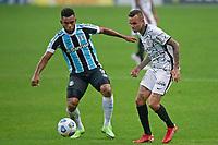28th August 2021; Arena do Gremio, Porto Alegre, Brazil; Brazilian Serie A, Gremio versus Corinthians; Miguel Borja of Gremio and Luan of Corinthians