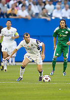 August 03 2010 Inter Milan FC forward Goran Pandev No. 27 in action during an international friendly between Inter Milan FC and Panathinaikos FC at the Rogers Centre in Toronto..Final score was 3-2 for Panathinaikos FC.