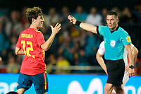 Spain's Alvaro Odriozola celebrates goal during international friendly match. June 3,2018.(ALTERPHOTOS/Acero) /NortePhoto.com