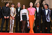 CANNES, FRANCE. July 12, 2021: Bill Murray, Adrien Brody, Timothee Chalamet, Wes Anderson, Lyna Khoudri, Tilda Swinton, Alexandre Desplat & Stephen Park at the gala premiere of Wes Anderson's The French Despatch at the 74th Festival de Cannes.<br /> Picture: Paul Smith / Featureflash