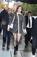 NEW YORK, NY- OCTOBER 31: Hailee Steinfeld seen exiting Build Series in New York City on October 31, 2019. Credit: RW/MediaPunch