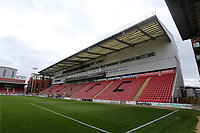 General view of the Justin Edinburgh stand ahead of Leyton Orient vs Oldham Athletic, Sky Bet EFL League 2 Football at The Breyer Group Stadium on 27th March 2021